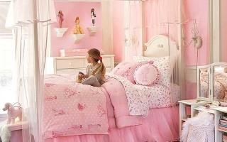 Розовая комната для девочки