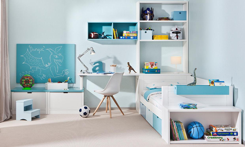 Бирюзовая комната для мальчика