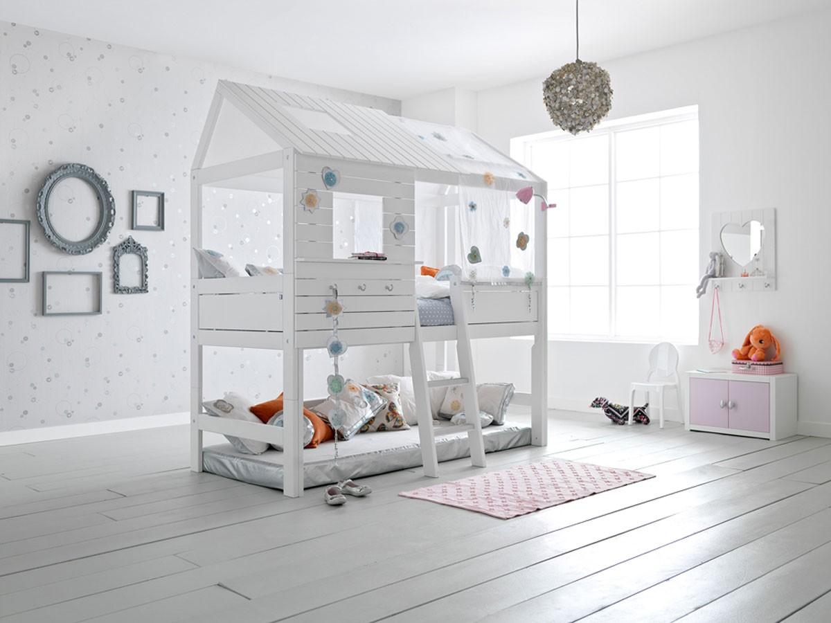 детские кроватки домики для девочек