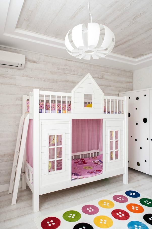 детские кроватки домики для девочек - фото