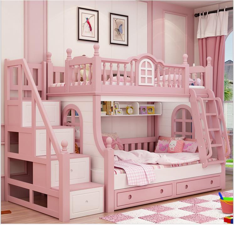 Детская кровать домик для девочки - воплощение