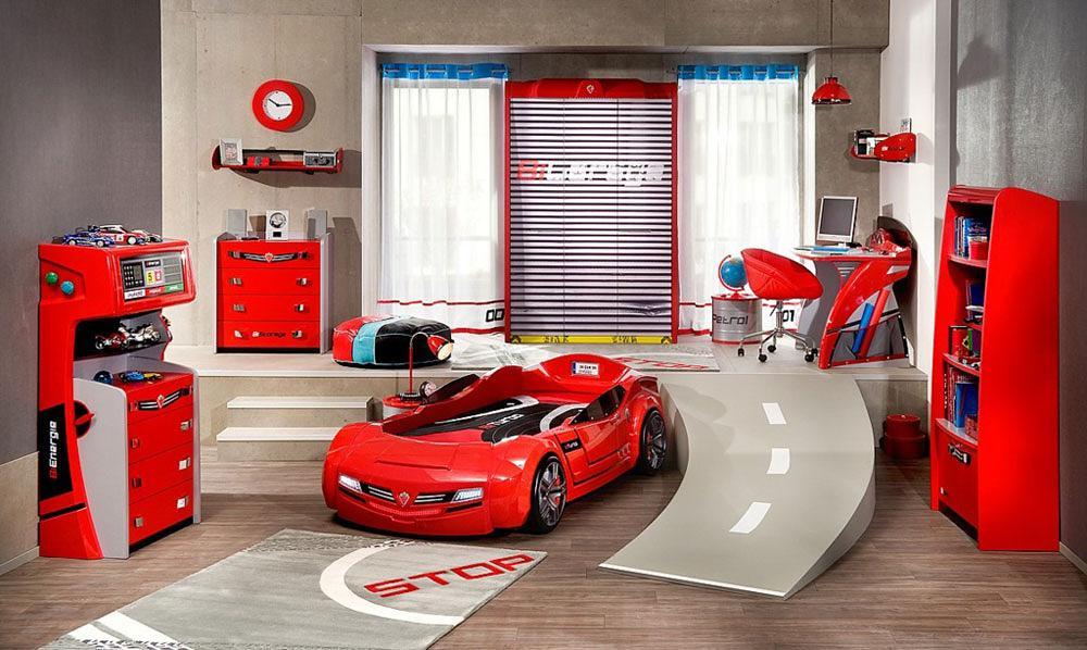 Кровать машинка ферари