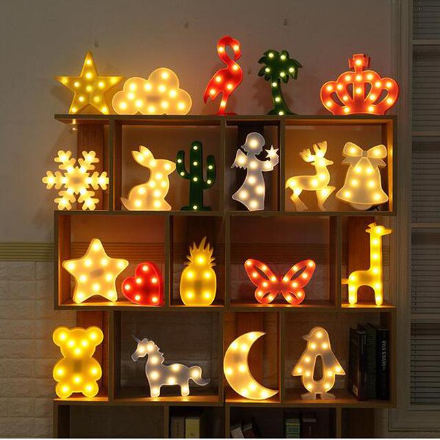 светодиодный детский светильник