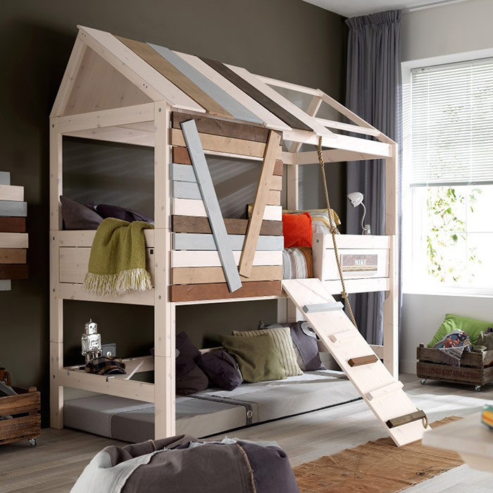 Кровать чердак для мальчика - фото