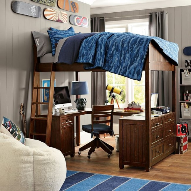 Кровать чердак для мальчика