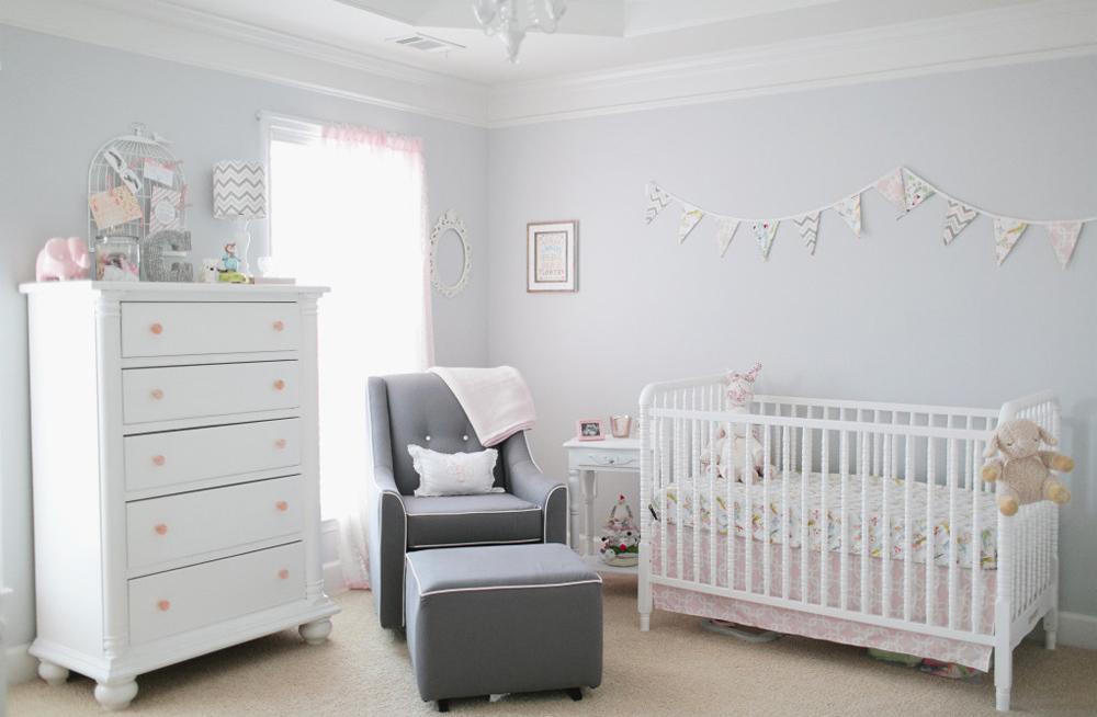 белая детская для новорождённого