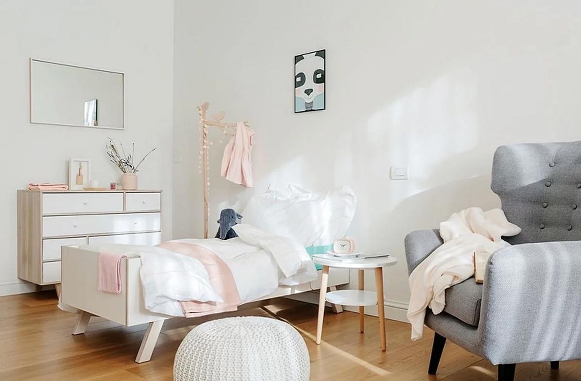 белая комната для девочки