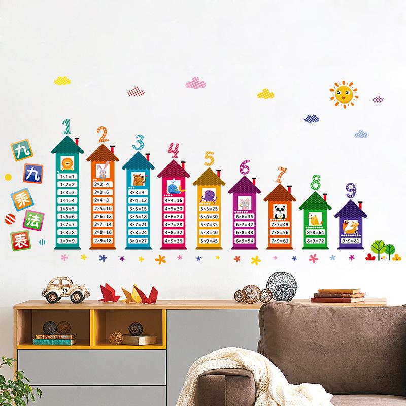 Виниловые наклейки на стену в детскую