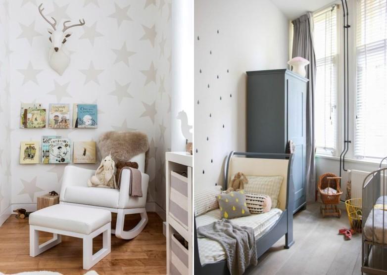 Деревянный пол в детской комнате - Скандинавский стиль