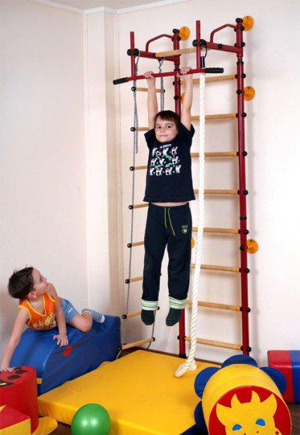 детская спортивная стенка для мальчика