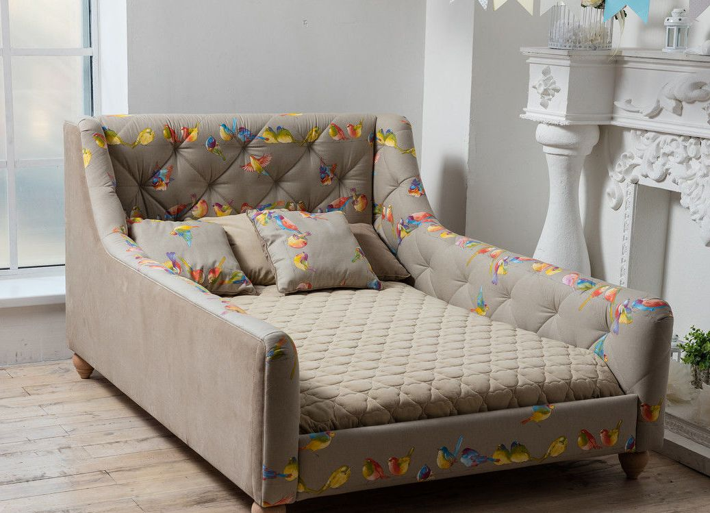 Кресло кровать с бортиками