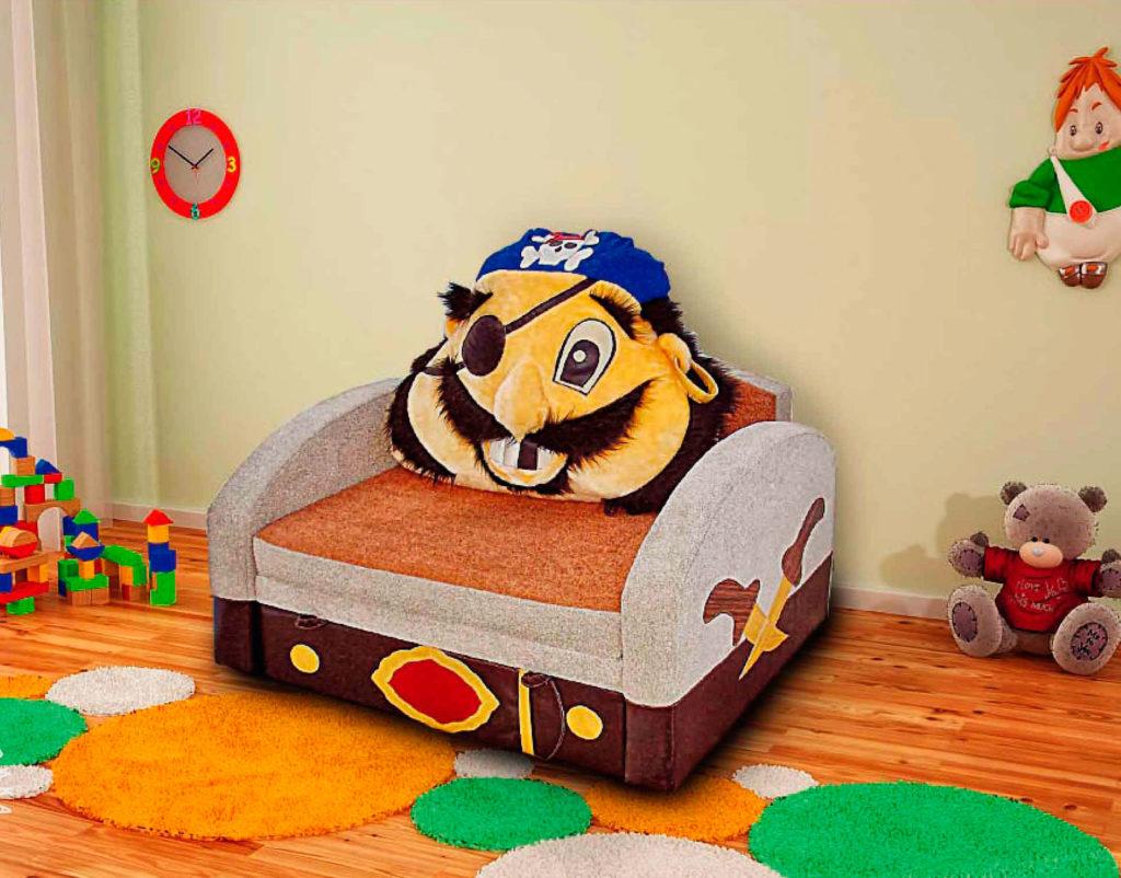 Детское кресло кровать для мальчика