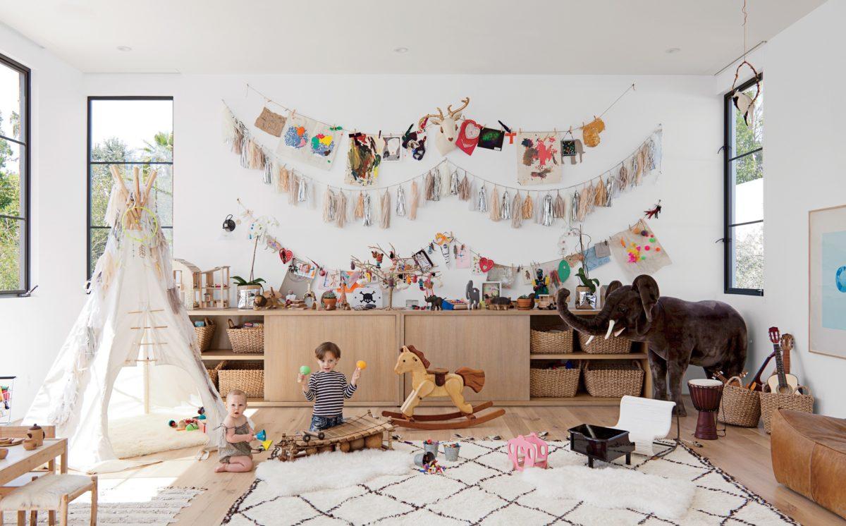 Хранение игрушек в квартире