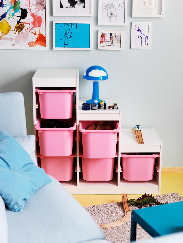 контейнеры для игрушек ступеньками