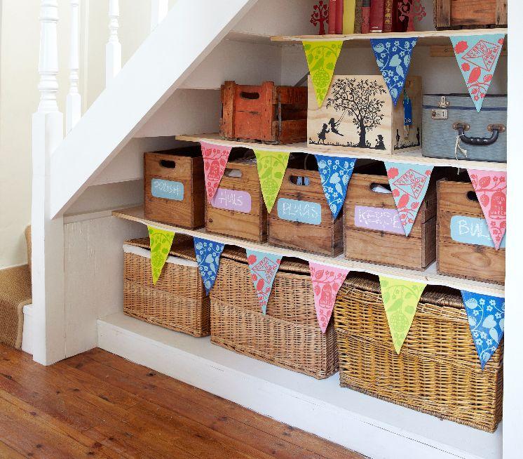 плетёные корзины для игрушек