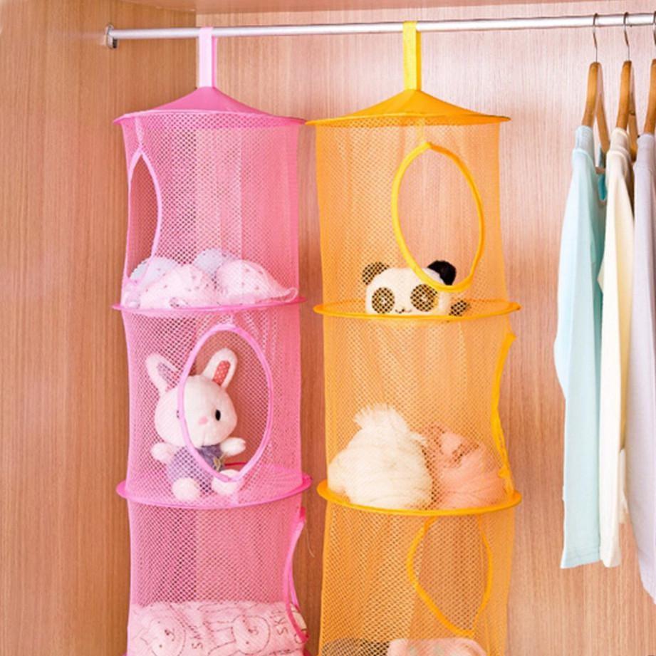 хранение игрушек по типу слинга