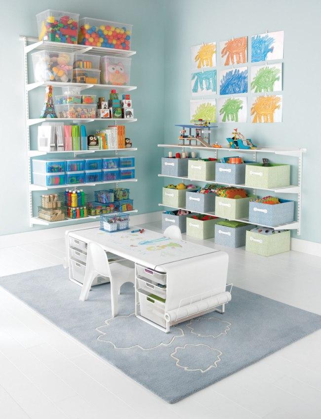 пластиковые корзины для игрушек