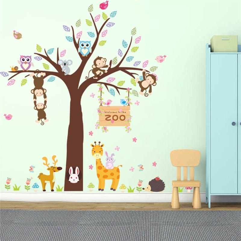 Наклейки на стену в детскую