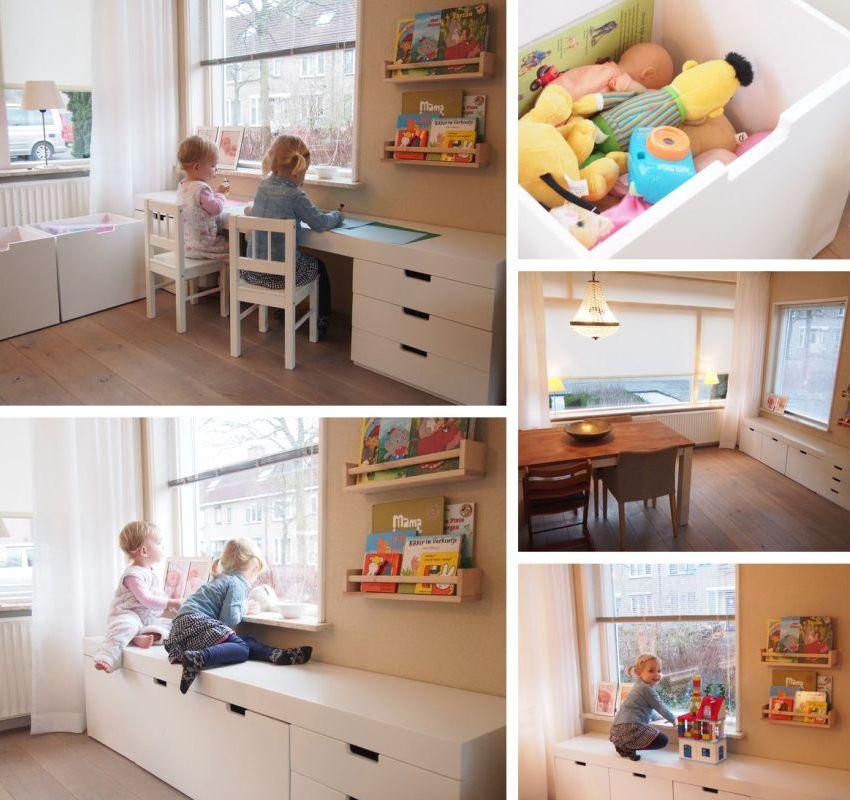 Детская мебель возле подокойника