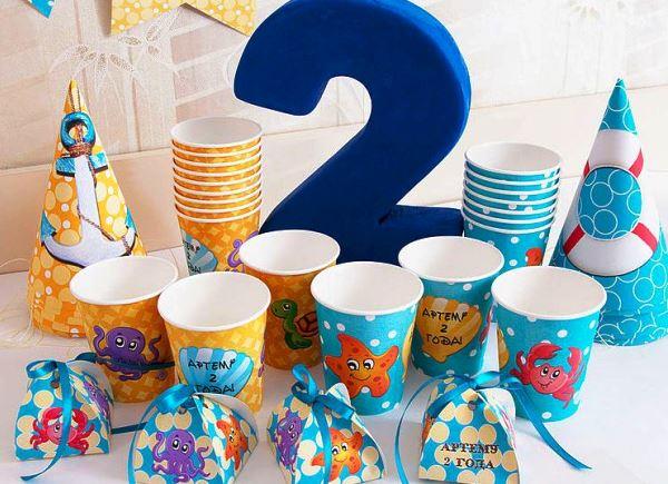 как украсить комнату на день рождения мальчику 2 года