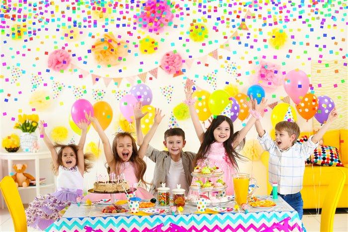 шарики в интерьере на день рождения